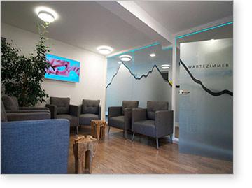 Wartezimmer Zahnarzt in Füssen